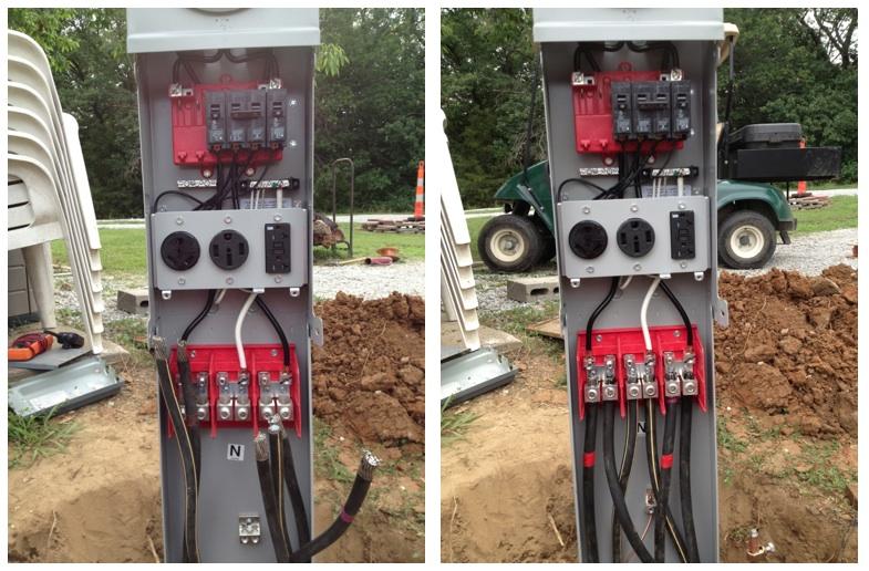 50 amp pedestal?w=960 rv net open roads forum tech issues park pedestal wiring campground wiring diagram at alyssarenee.co