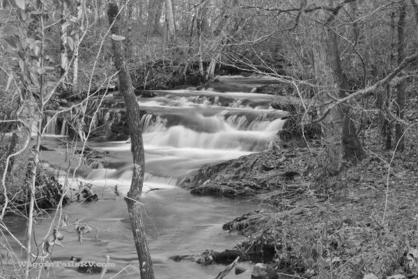 Mill Creek, Cades Cove, TN Behind Henry Whitehead's PlaceISO 100, 55-300mm zoom set at 55mm, f/22, 1.6 Sec
