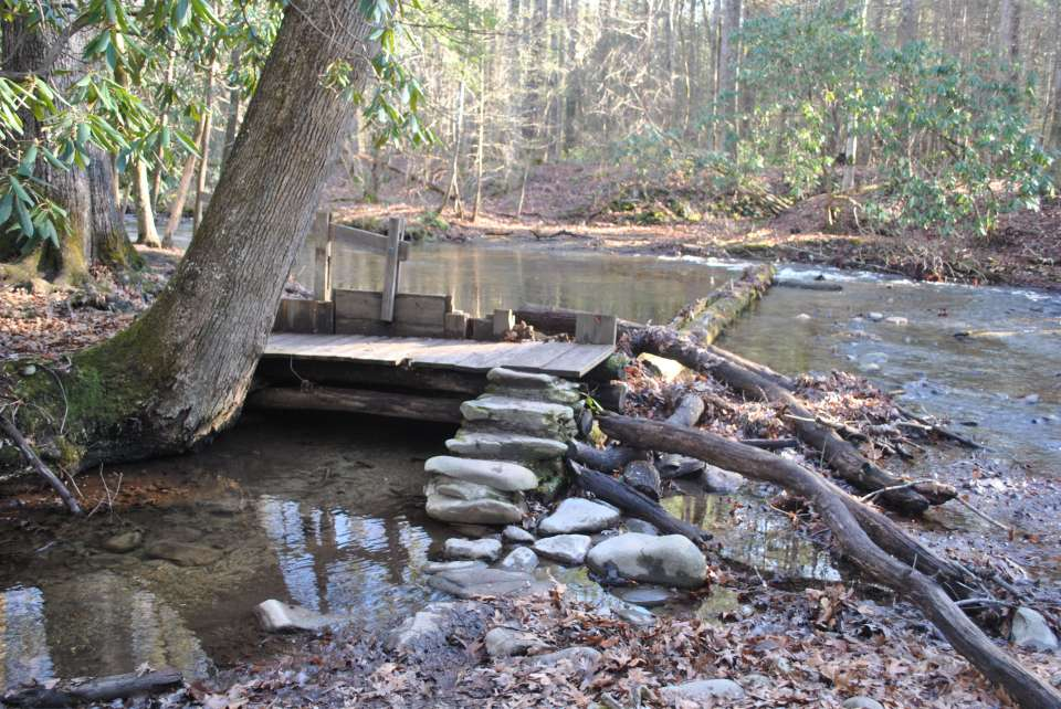 Dam on Mill CreekCades Cove, Tennessee