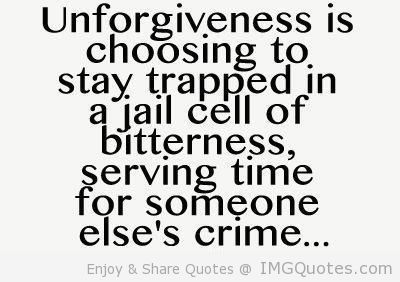 Unforgiveness